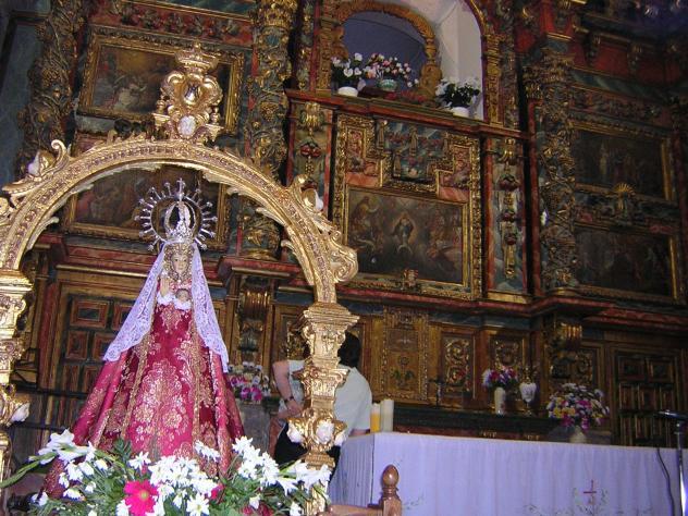 La Virgen de la Cuesta en Miranda del Castañar