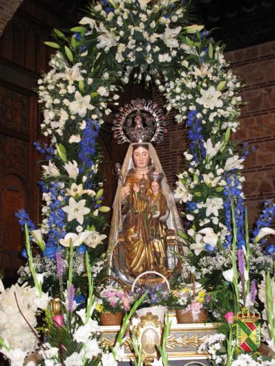 La Virgen de la Cuesta en Hita (Guadalajara)