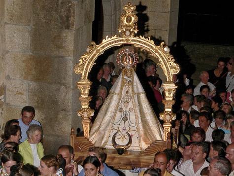 Virgen de la Cuesta en Miranda